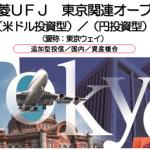 三菱UFJ 東京関連オープン(米ドル投資型/円投資型)(愛称:東京ウェイ)