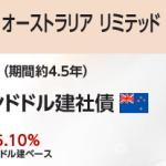 トヨタ ファイナンス オーストラリア リミテッド 2019年2月13日満期 ニュージーランドドル建社債/三菱UFJモルガン・スタンレー証券