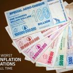 ジンバブエのハイパーインフレは5,000億%!貨幣が無価値になるハイパーインフレの怖さ。