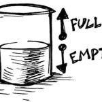 Is the glass half full or half empty?(楽観的か悲観的か、資産運用の考え方)