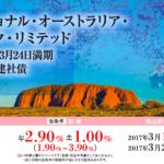 ナショナル・オーストラリア・バンク・リミテッド 2022年3月24日満期 豪ドル建社債